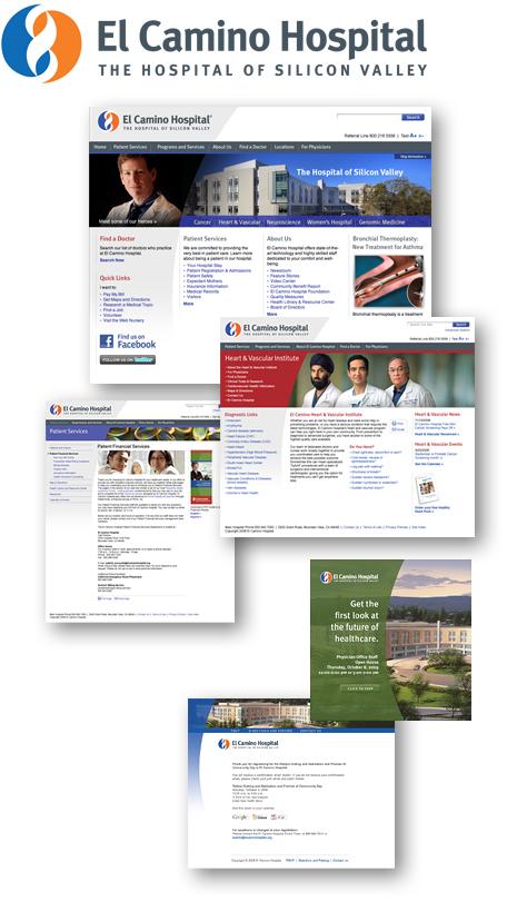 El Camino Hospital Website Revitalization - Connector Branding